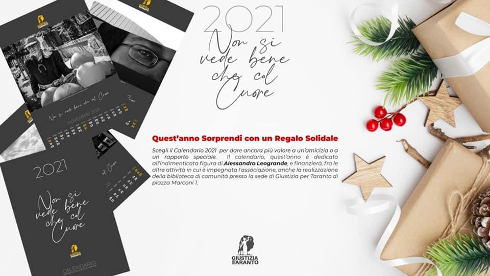 Natale 2021 Calendario.Calendario Delle Bellezze Tarantine Giustizia Per Taranto